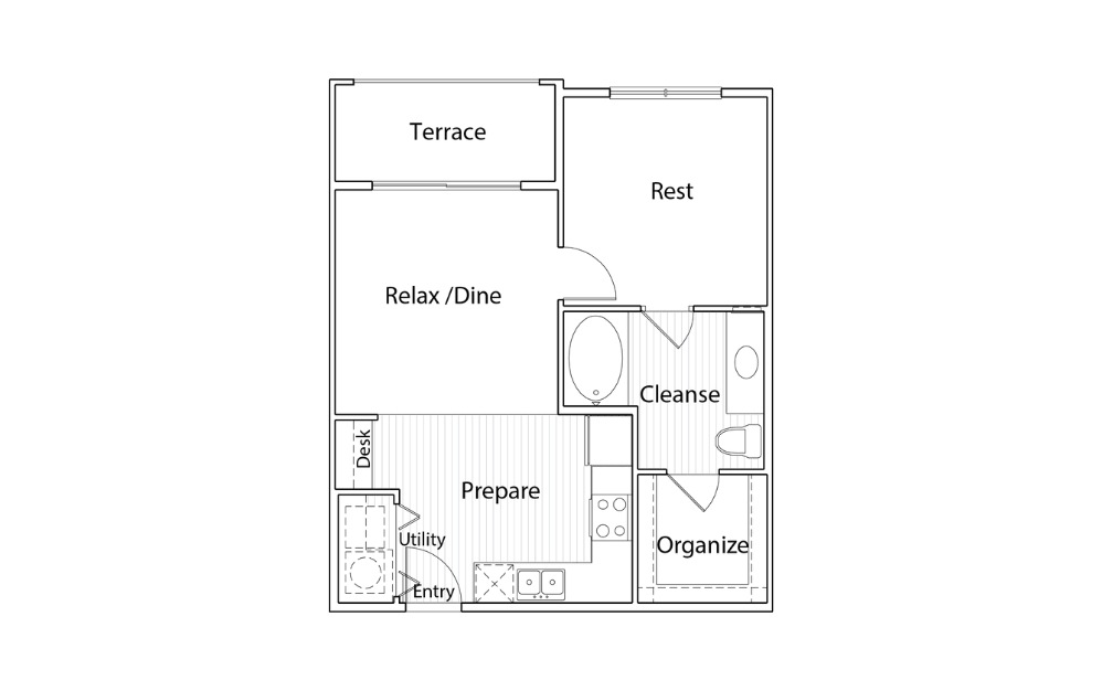 A1 - One Bedroom, One Bath Apartment Home in Austin, TX
